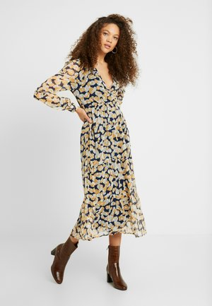 OBJINGRID WRAP DRESS - Korte jurk - sky captain