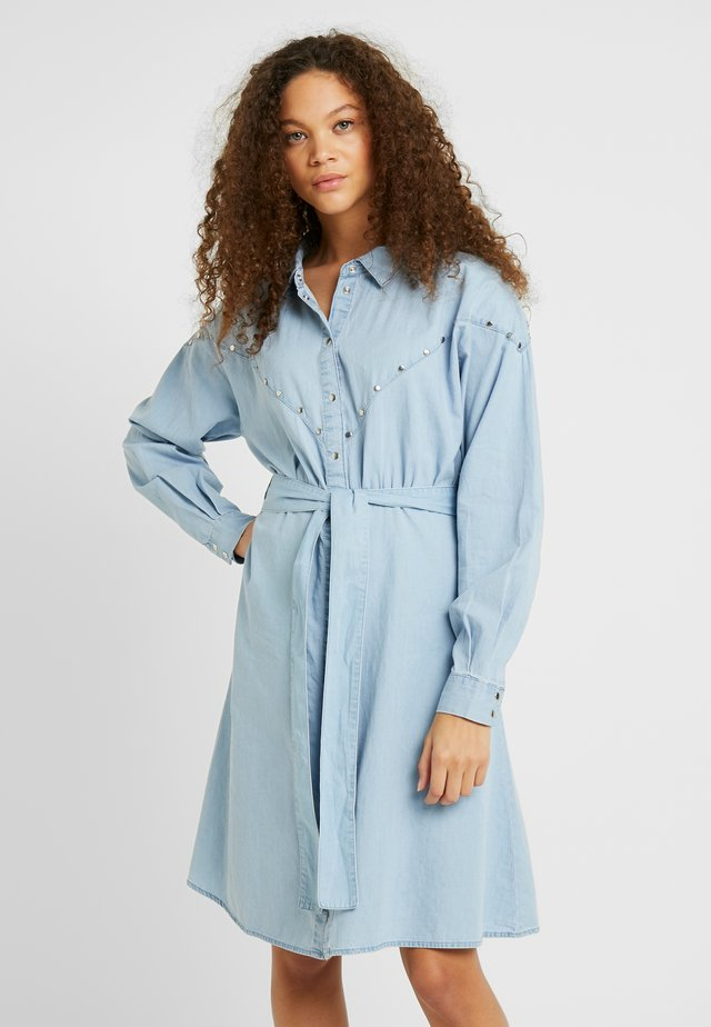 OBJDANIELLA - Day dress - light blue denim
