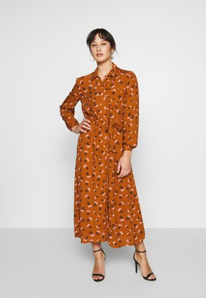 OBJHARPER DRESS - Skjortekjole - sugar almond/harper