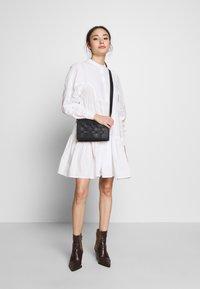 Object Petite - OBJALYSSA DRESS - Shirt dress - white - 2