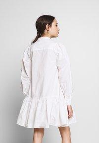 Object Petite - OBJALYSSA DRESS - Shirt dress - white - 3