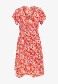 Object Petite - OBJBARB AYA SHORT DRESS - Vestido informal - poinciana - 2