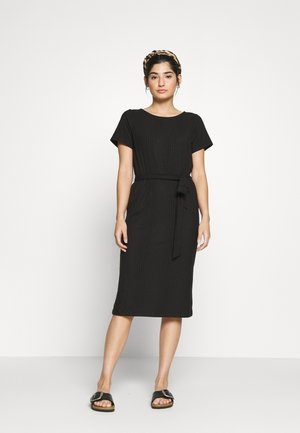 OBJCELIA DRESS - Korte jurk - black