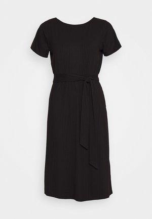 OBJCELIA DRESS - Korte jurk - black