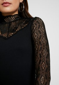 Object Petite - OBJMELLANY  - Langærmede T-shirts - black - 5