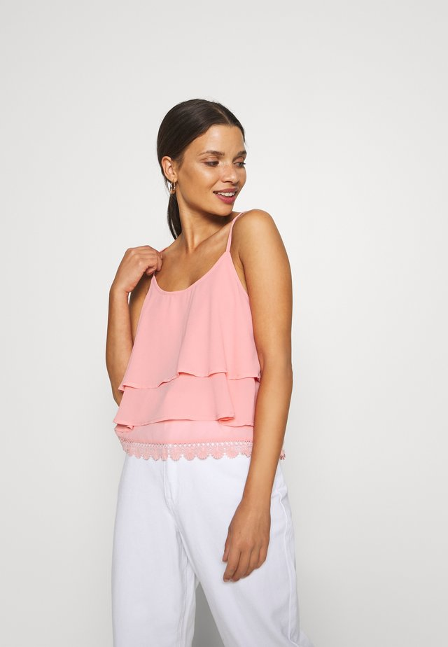 OBJANNA SINGLET - Top - ash rose