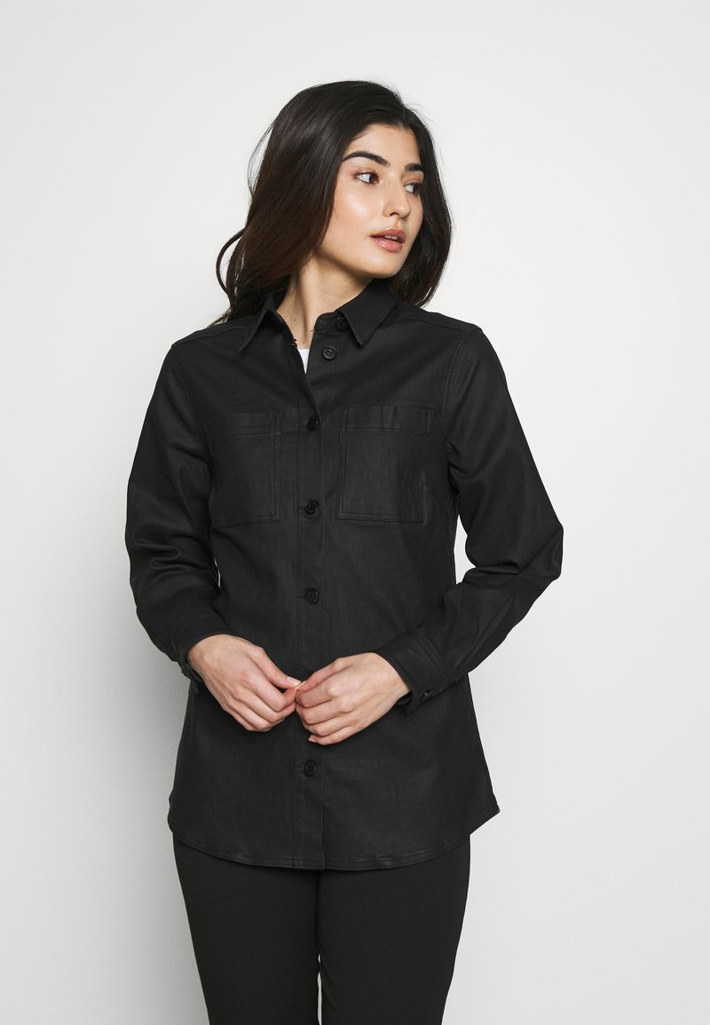 Object Petite - OBJBELLE OWEN JACKET - Lehká bunda - black