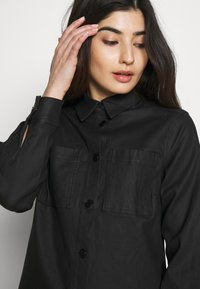 Object Petite - OBJBELLE OWEN JACKET - Lehká bunda - black - 4