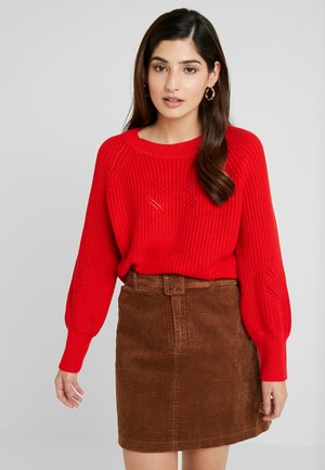 OBJAPRIL - Pullover - high risk red