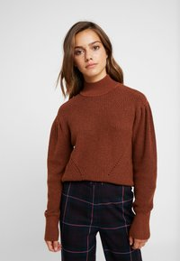 Object Petite - OBJDAISY - Pullover - brown patina - 0