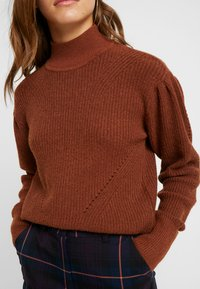Object Petite - OBJDAISY - Pullover - brown patina - 5
