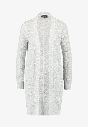 OBJNOVA STELLA CARDIGAN - Cardigan - light grey melange