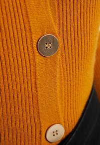 Object Petite - OBJTHESSA CARDIGAN - Strikkegenser - buckthorn brown - 4