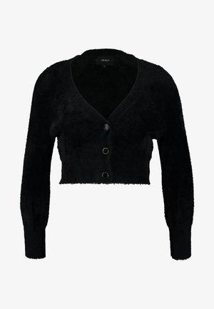 OBJCASRA CARDIGAN - Cardigan - black