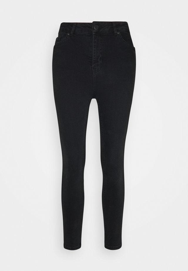 OBJHARPER  - Jeans Skinny Fit - black denim