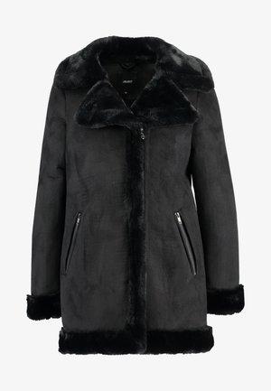 OBJAUDREY COAT - Halflange jas - black