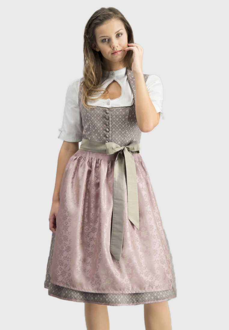 Stockerpoint - Dirndl - taupe pink