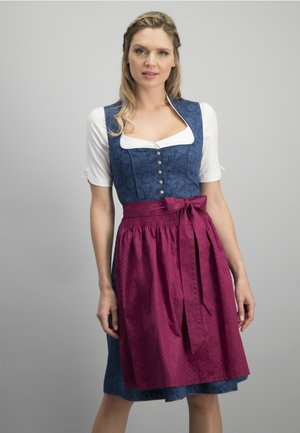 Dirndl - blue-beer
