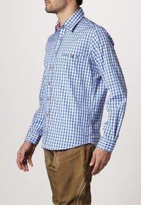 Stockerpoint - RUFUS - Košile - azur - 2