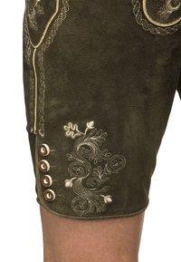Stockerpoint - BEPPO  - Kožené kalhoty - bison - 2