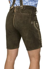 Stockerpoint - BEPPO  - Kožené kalhoty - bison - 3