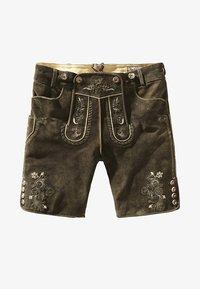 Stockerpoint - BEPPO  - Kožené kalhoty - bison - 4