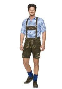 Stockerpoint - BEPPO  - Kožené kalhoty - bison - 0