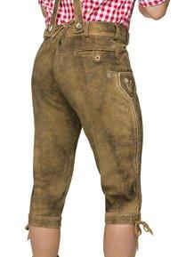 Stockerpoint - JUSTIN  - Pantalon en cuir - havanna - 2