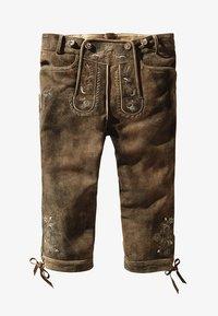 Stockerpoint - JUSTIN  - Pantalon en cuir - havanna - 4