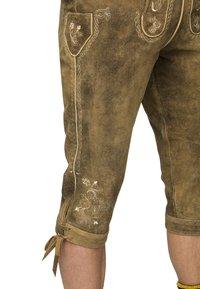 Stockerpoint - JUSTIN  - Pantalon en cuir - havanna - 3