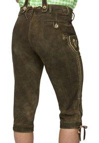 Stockerpoint - JUSTIN  - Kožené kalhoty - bison - 3