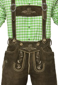Stockerpoint - JUSTIN  - Kožené kalhoty - bison - 1