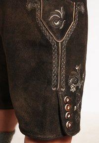 Stockerpoint - CORBI - Kožené kalhoty - bison - 4