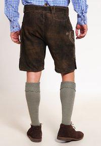 Stockerpoint - CORBI - Kožené kalhoty - bison - 2