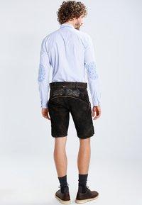 Stockerpoint - LAURENCE - Kožené kalhoty - bison - 3