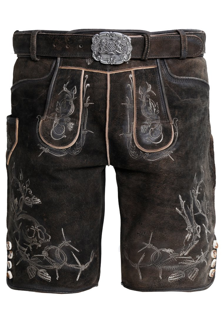 Stockerpoint - LAURENCE - Kožené kalhoty - bison