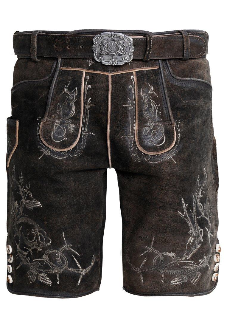 Stockerpoint - LAURENCE - Pantaloni di pelle - bison
