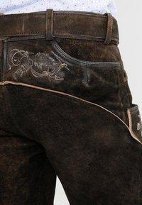 Stockerpoint - LAURENCE - Kožené kalhoty - bison - 6