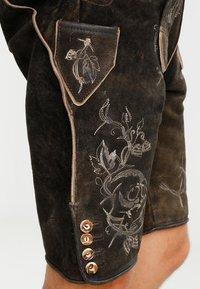 Stockerpoint - LAURENCE - Kožené kalhoty - bison - 5