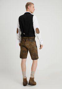 Stockerpoint - ALOIS - Kožené kalhoty - stein - 2