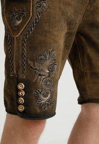 Stockerpoint - ALOIS - Kožené kalhoty - stein - 6