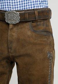 Stockerpoint - SIGGI - Kožené kalhoty - stein - 3