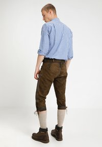 Stockerpoint - SIGGI - Kožené kalhoty - stein - 2