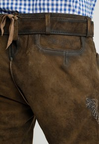 Stockerpoint - SIGGI - Kožené kalhoty - stein - 5