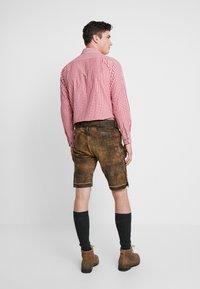Stockerpoint - BRUCE - Kožené kalhoty - nuss gespeckt - 2