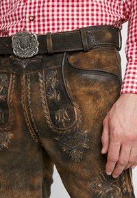 Stockerpoint - BRUCE - Kožené kalhoty - nuss gespeckt - 3