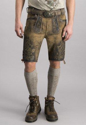 HOLZKNECHT - Shorts - vintage green