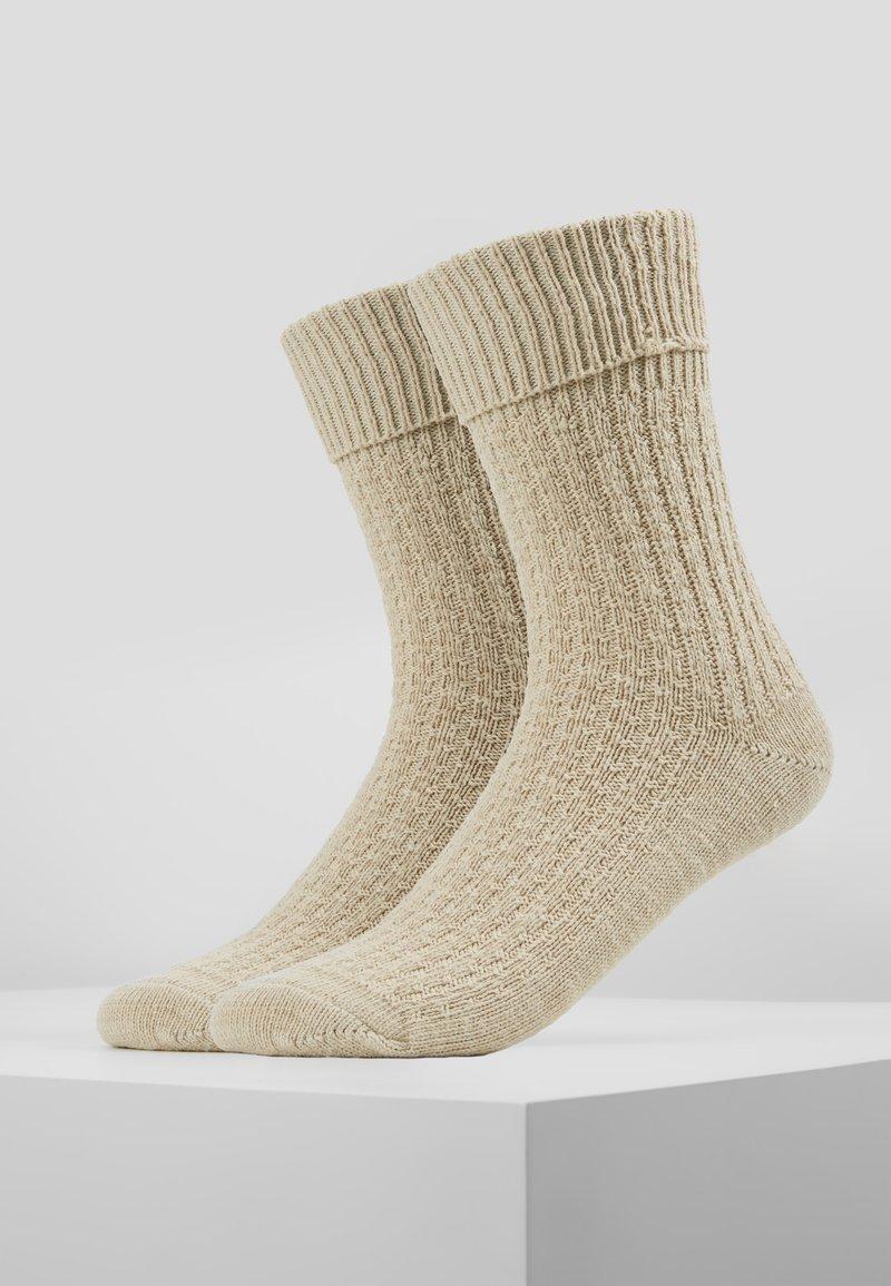 Stockerpoint - 2 PACK TRACHTEN - Socks - natur