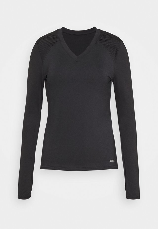 ACTIVE LONG SLEEVES - T-shirt de sport - schwarz
