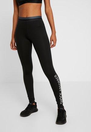 BRANDED LEGGINGS - Leggings - schwarz